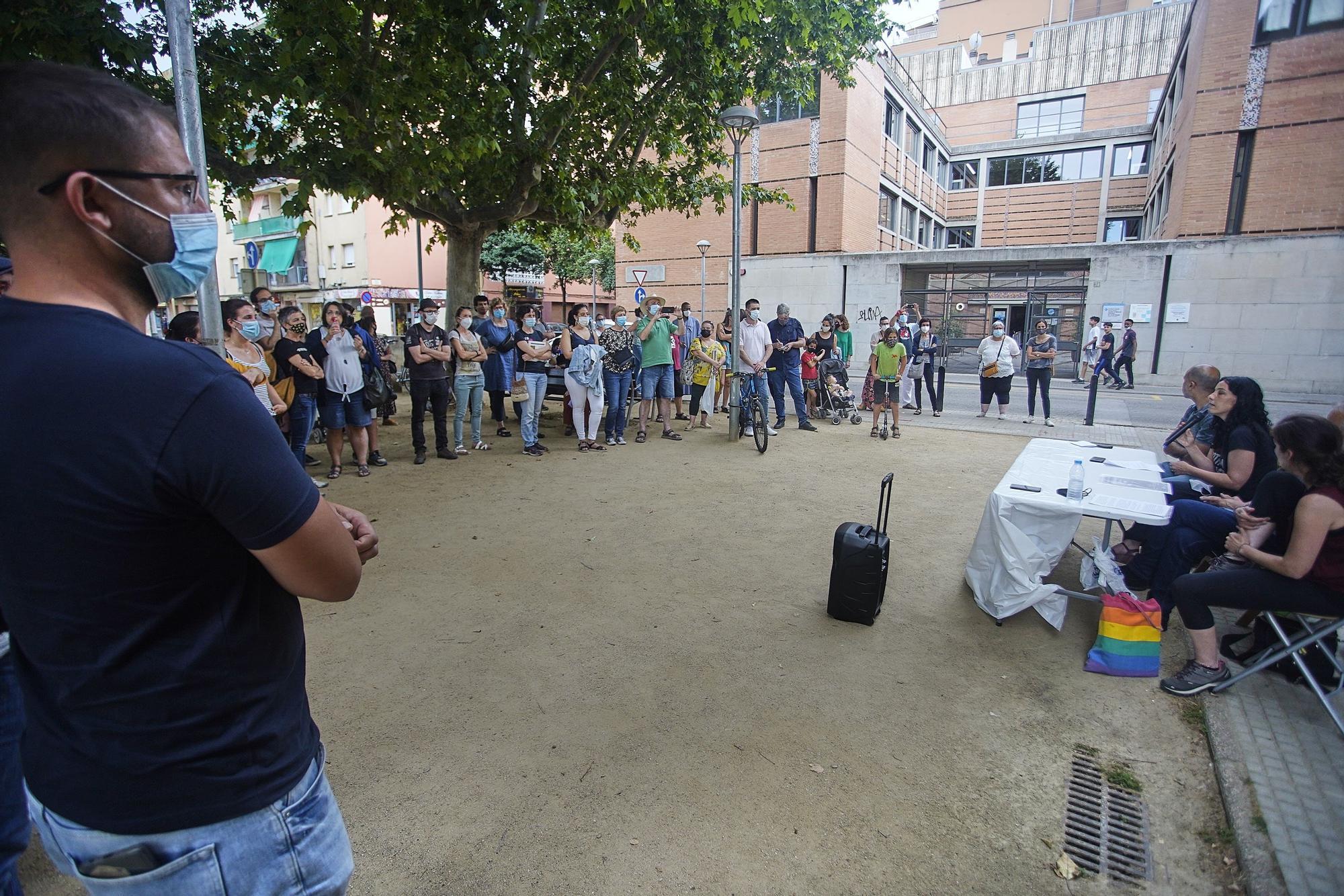 Nova protesta a Salt contra la segregació escolar al municipi