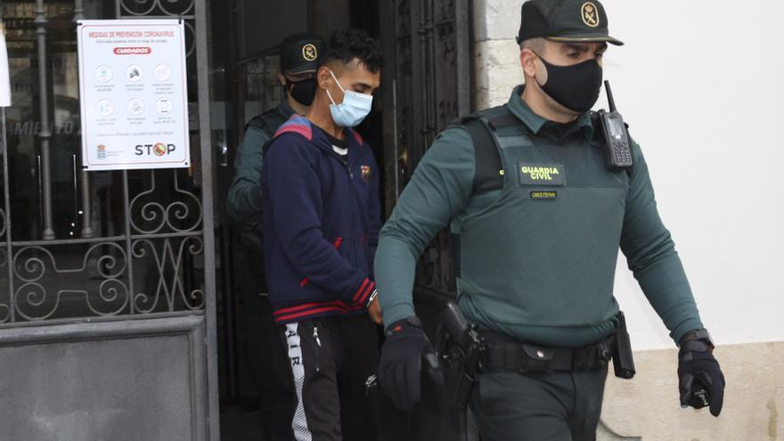 El presunto autor del crimen de La Arena pasa a disposición judicial
