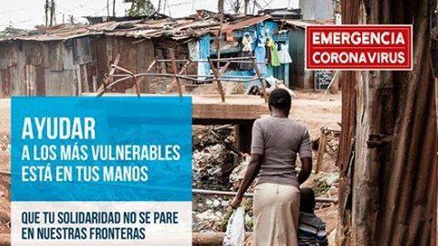Manos Unidas Zamora se suma a la campaña de emergencia para paliar los efectos del coronavirus