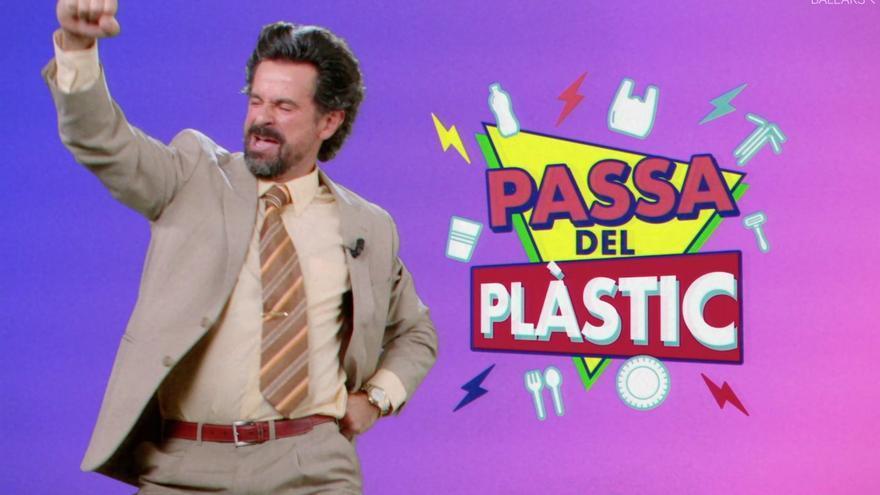El Govern anima a 'pasar del plástico' con una campaña de concienciación desenfadada y con aire ochentero