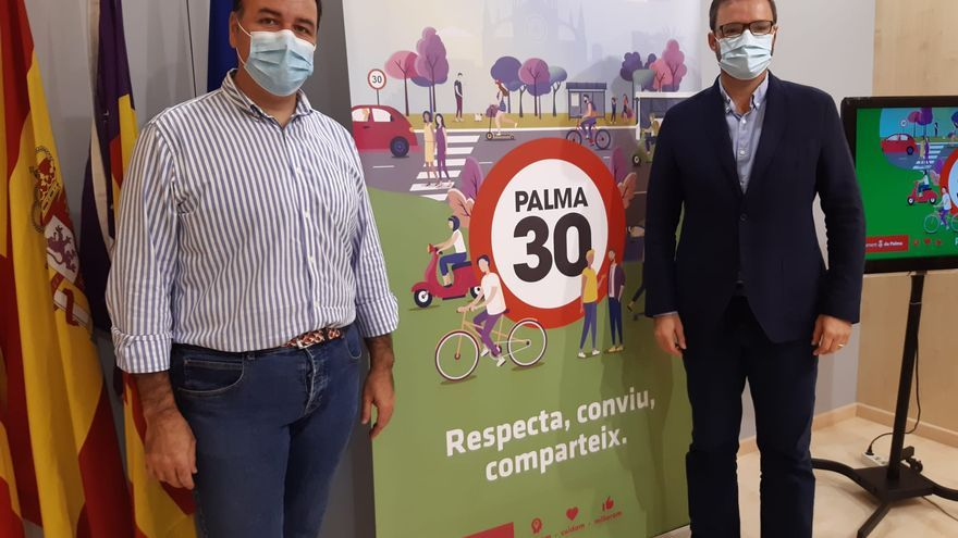La 'Palma-30' permitirá que convivan coches, motos y patinetes
