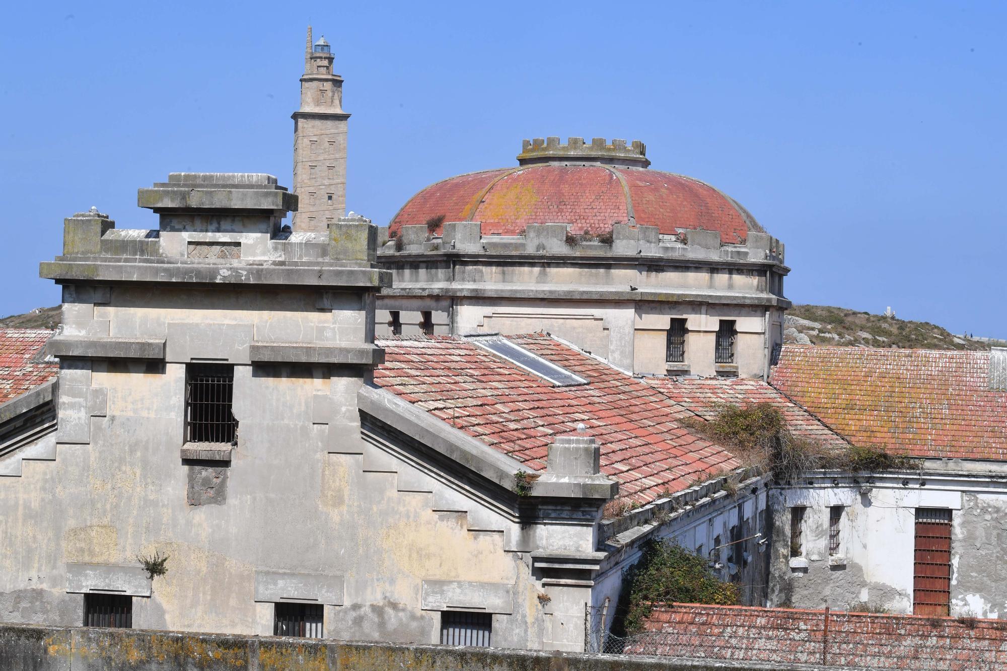 Petición de auxilio para la antigua prisión de A Coruña
