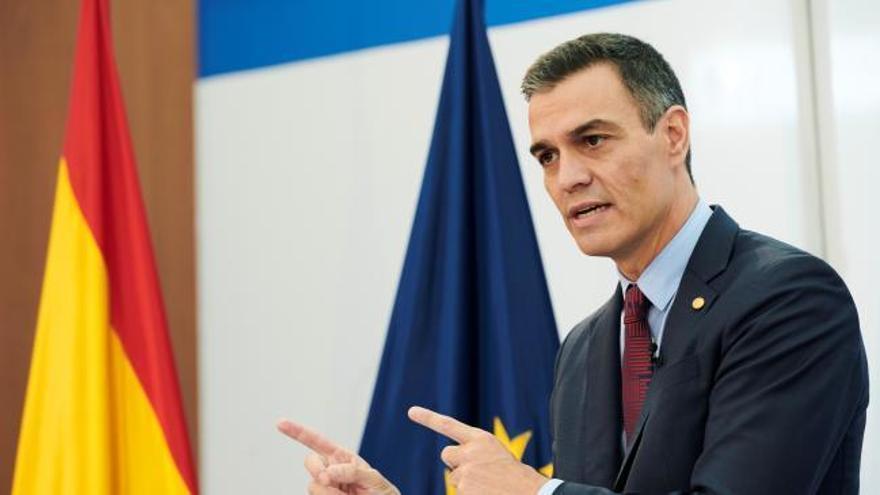 Sánchez apoya a Iglesias tras la solicitud del juez al TS