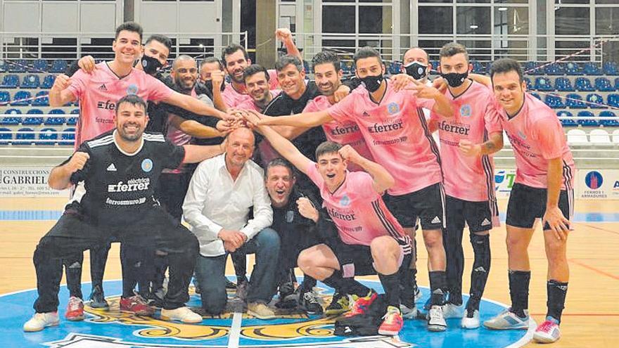 Pilotades | El Muro Futsal se proclama campeón de la Tercera División
