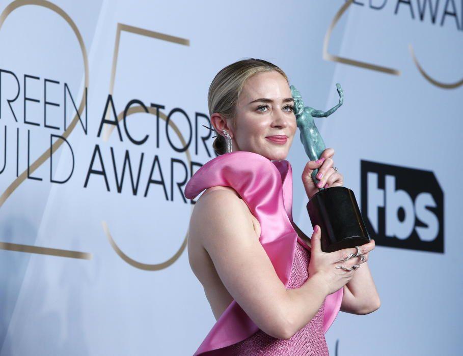 """Premios del Sindicato de Actores: Emily Blunt, mejor actriz de reparto por la película """"A Quiet Place"""""""