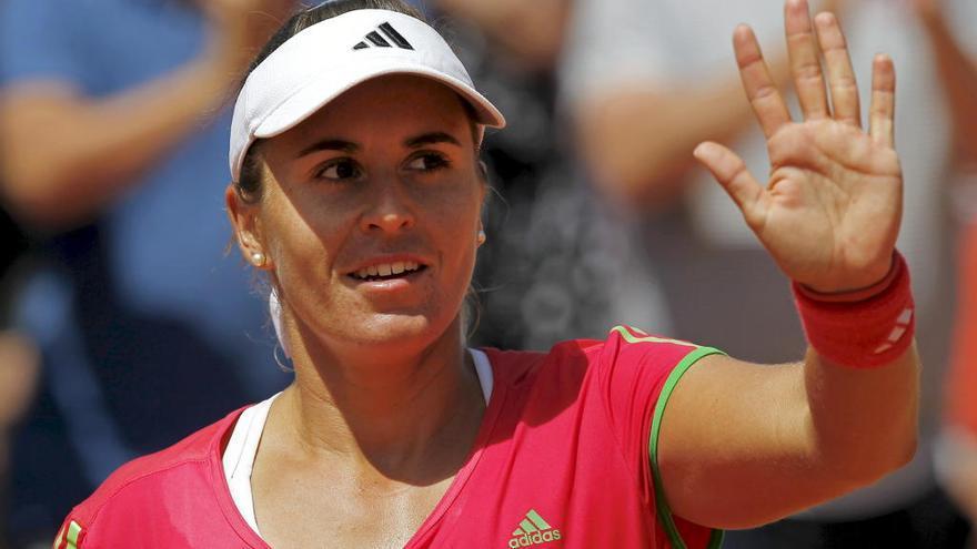 Anabel Medina se retirará del tenis en el Abierto de EE UU
