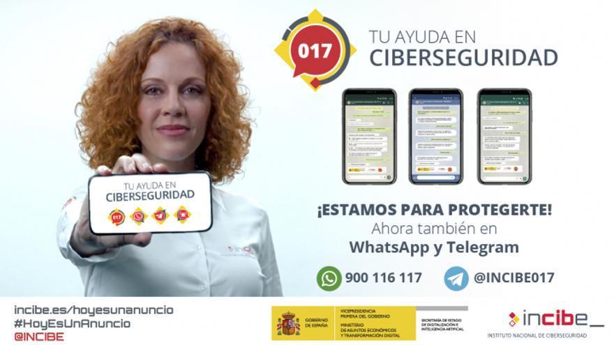 L'Institut Nacional de Ciberseguretat crea una nova campanya publicitària sobre l'ús segur i responsable d'Internet