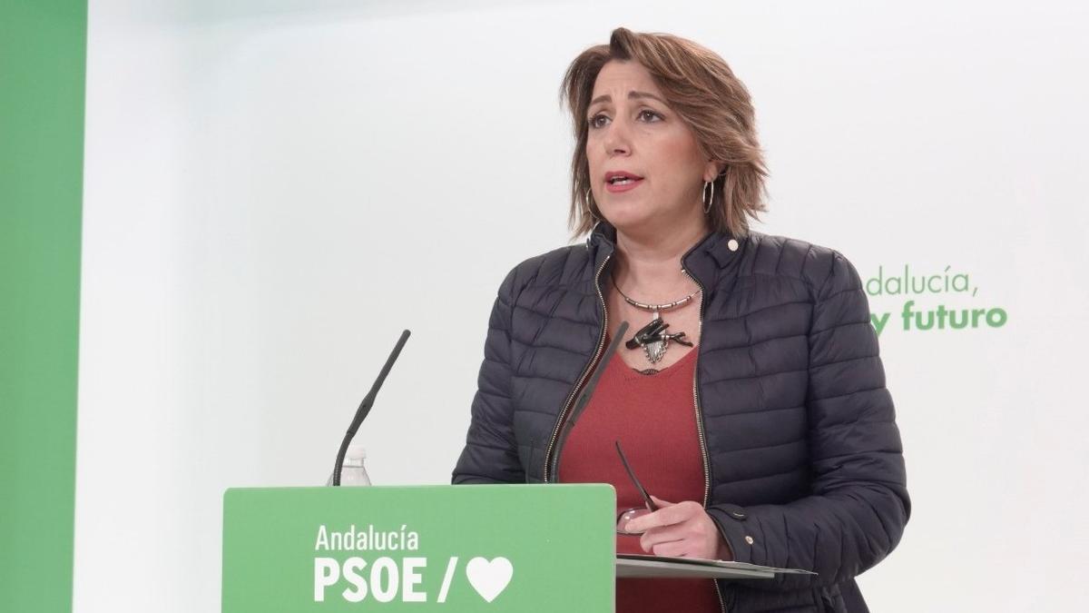 Susana Díaz, en una imagen de archivo.