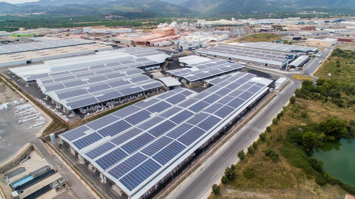 La planta solar de Pamesa es la más grande de Europa en autoconsumo.