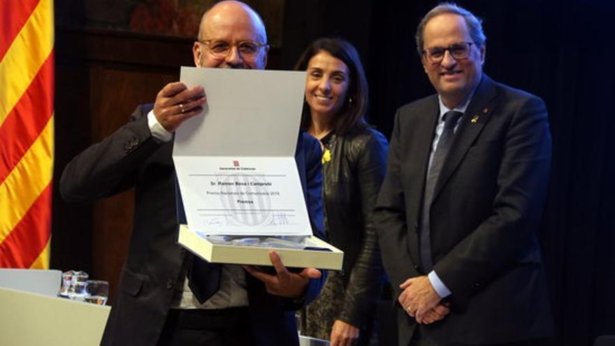 El periodista Ramon Besa rebrà el 1r Premi d'Honor de la Premsa Comarcal