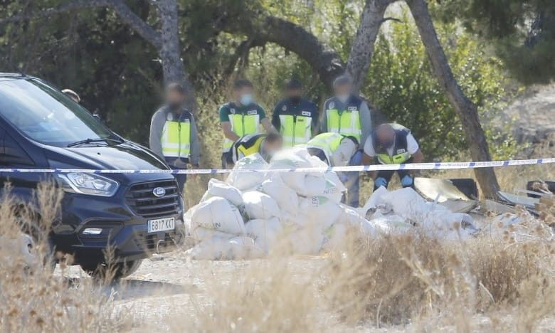 Aparece el cadáver de un hombre en descomposición en las lagunas de Rabasa en Alicante