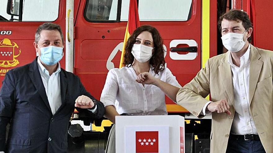 Mañueco ensalza el nuevo acuerdo contra incendios