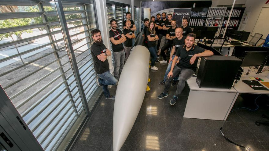 PLD Space, cohetes valencianos listos para el despegue