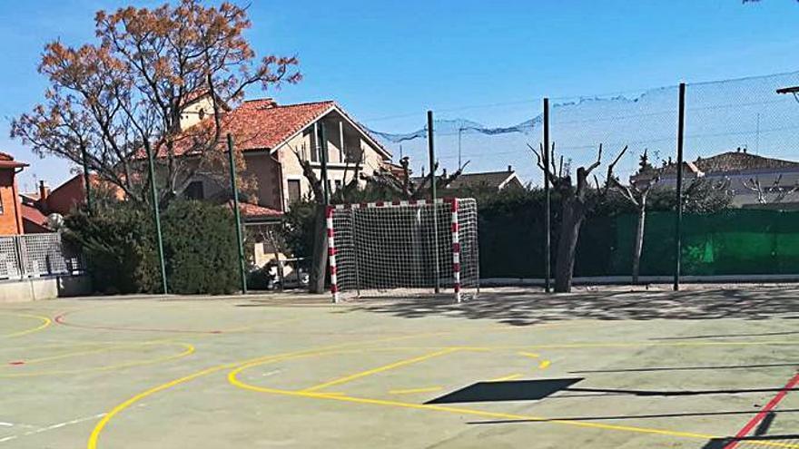 Trabajos de mejora en las instalaciones deportivas