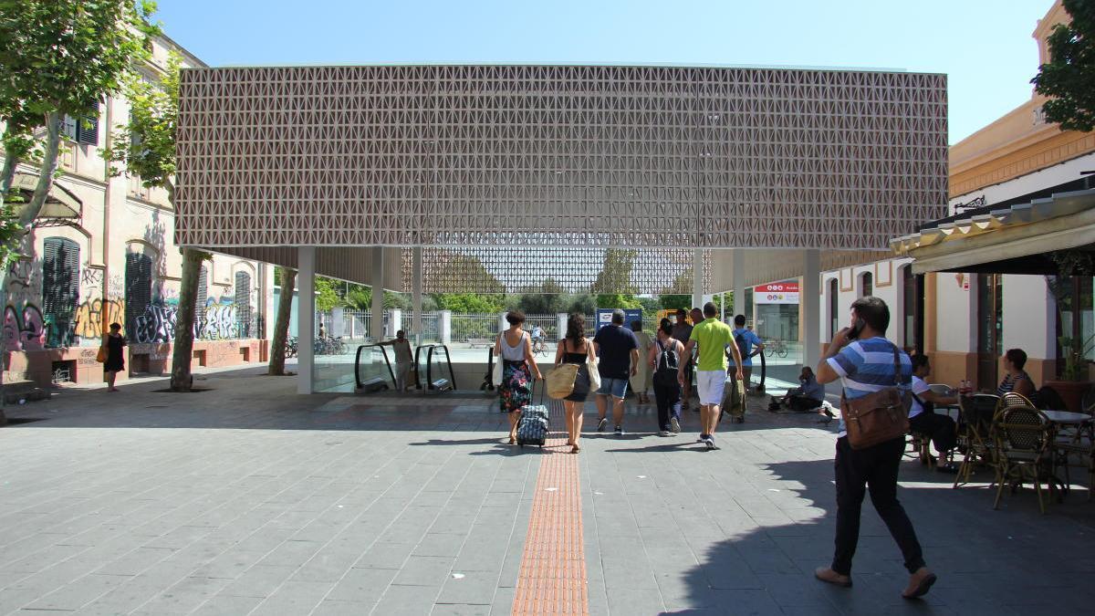 La Estación Intermodal de Palma tendrá vigilancia 24 horas y parada de taxis