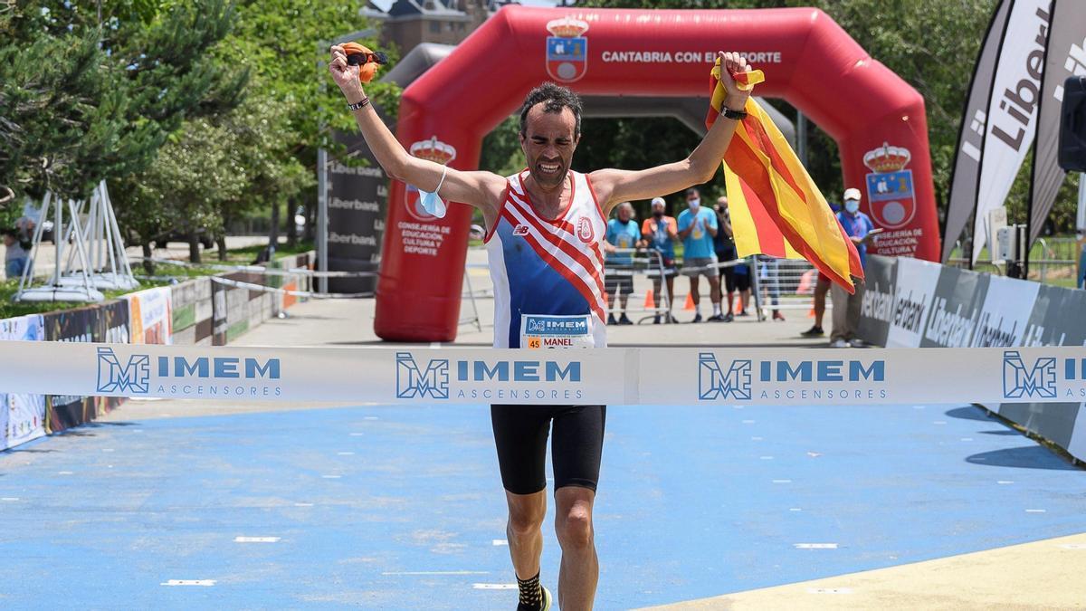 Manel Deli es proclama campió estatal dels 100 km