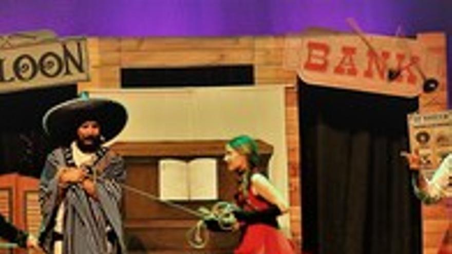 Teatro Familiar Reciclown Teatro. Presenta Western Lo que Western