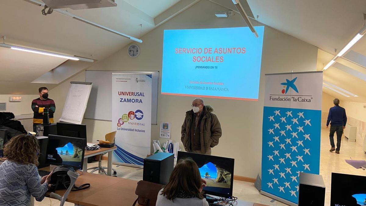 Presentación del programa en el Campus Viriato