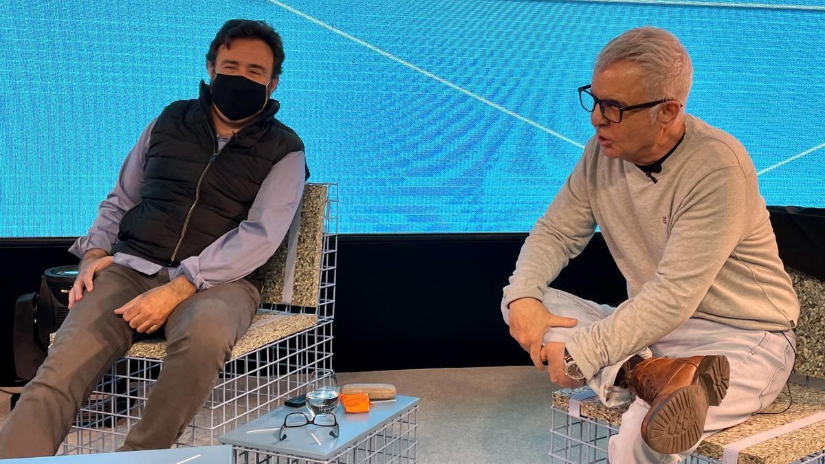 Rafa Lahuerta i Ferran Torrent.
