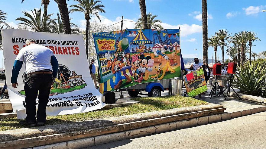 Llamada desesperada de  los feriantes de Mallorca para no terminar en la ruina