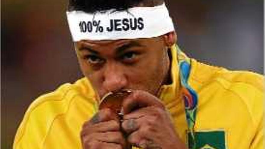 Neymar, rei olímpic a Rio de Janeiro