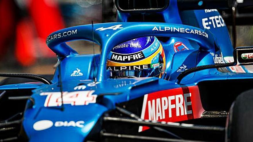 Alonso, cuarto en los libres del GP de Francia