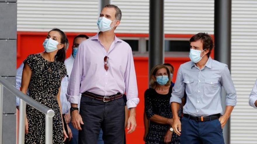 """Felipe VI, en Asturias: """"No será nada fácil superar el impacto económico de la pandemia"""""""