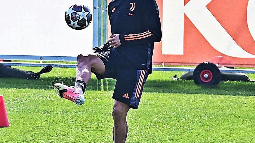 El Juventus de Cristiano Ronaldo recibe en desventaja al Oporto