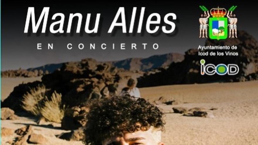 Concierto de Manu Alles