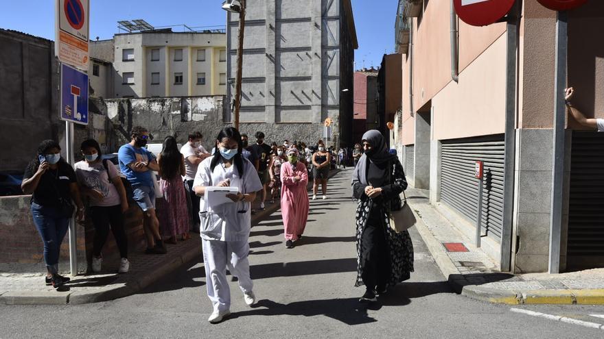 Segona jornada de vacunacions exprés a Manresa