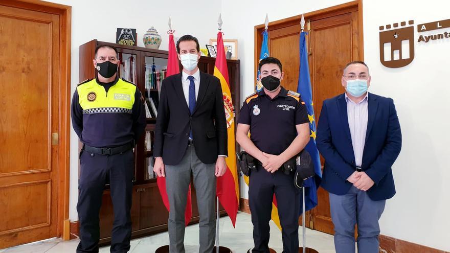 Protección Civil cambia de jefe en Elda