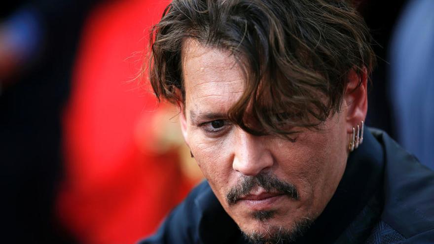 Los problemas de Johnny Depp en el rodaje de 'Piratas del Caribe'