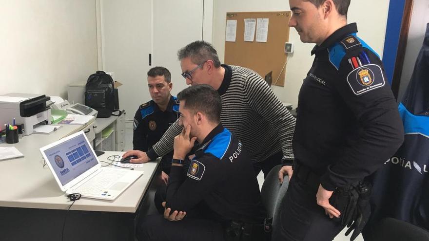La Policía Local de Soutomaior estrena una aplicación que facilita los trámites a los ciudadanos