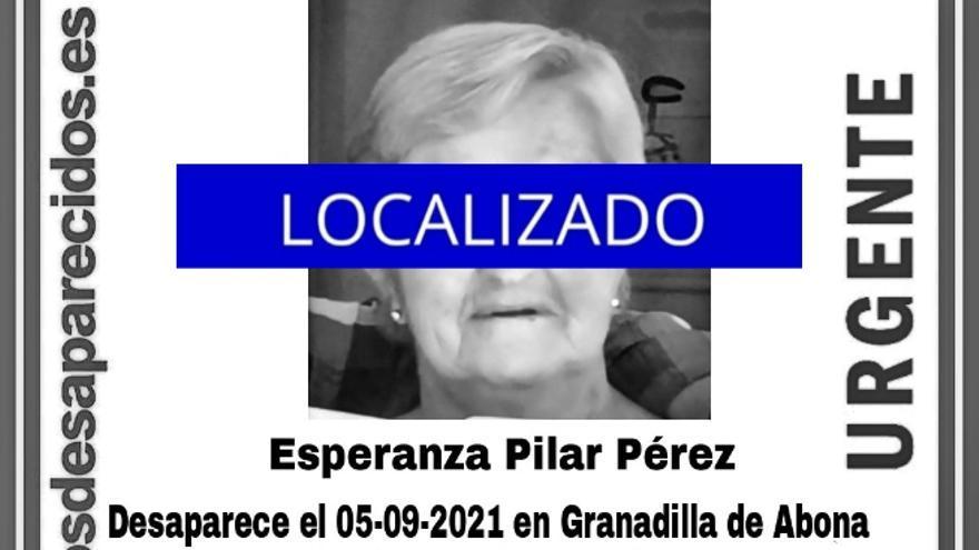 Localizan a la mujer de 68 años desaparecida en Granadilla