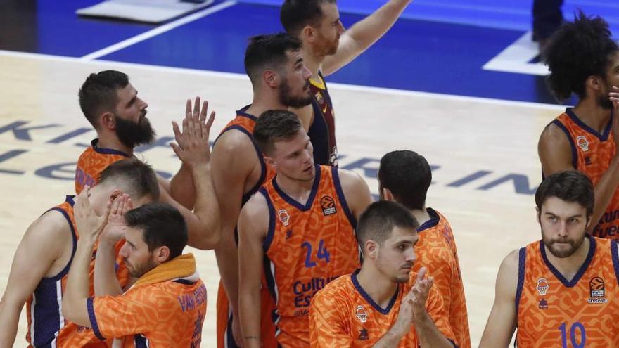 La Euroliga da triunfos 20-0 a Valencia y Baskonia ante el Zenit, que no jugó por Covid