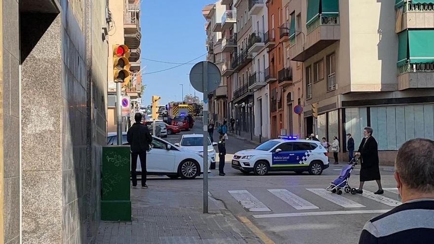 Alarma per una fuita de gas al carrer del Bruc de Manresa