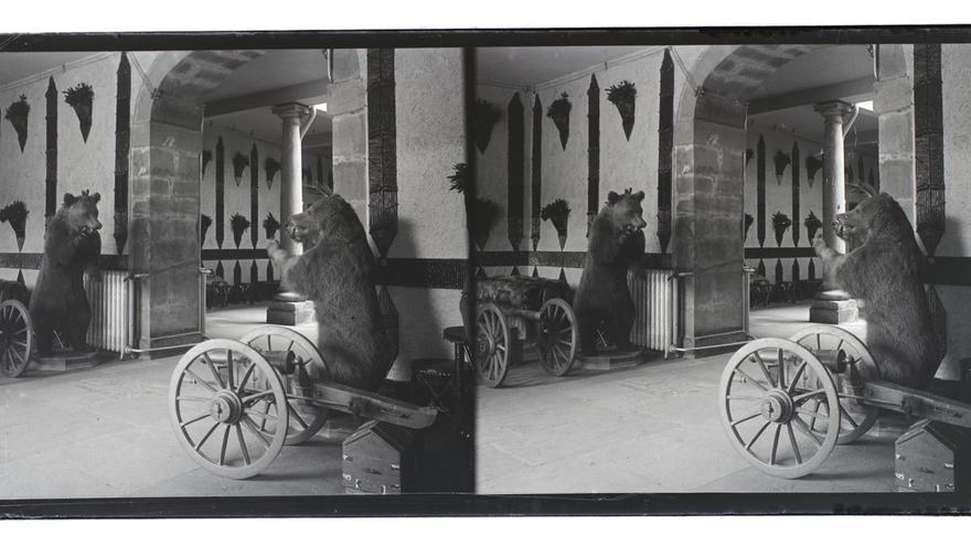 Así era el Palacio de Valdesoto hace más de un siglo: un viaje fotográfico de la mano del conde de Polentinos