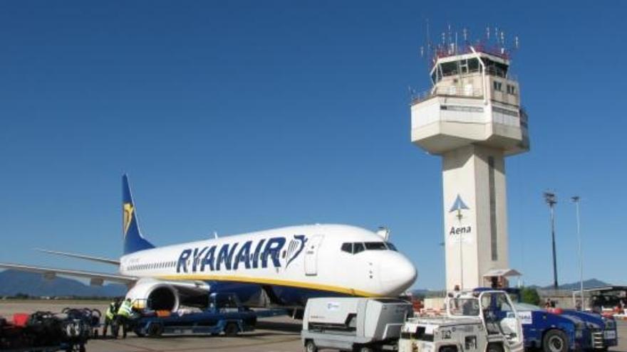 Ryanair unirà l'aeroport de Girona amb Frankfurt i Riga amb dues noves rutes l'estiu del 2018