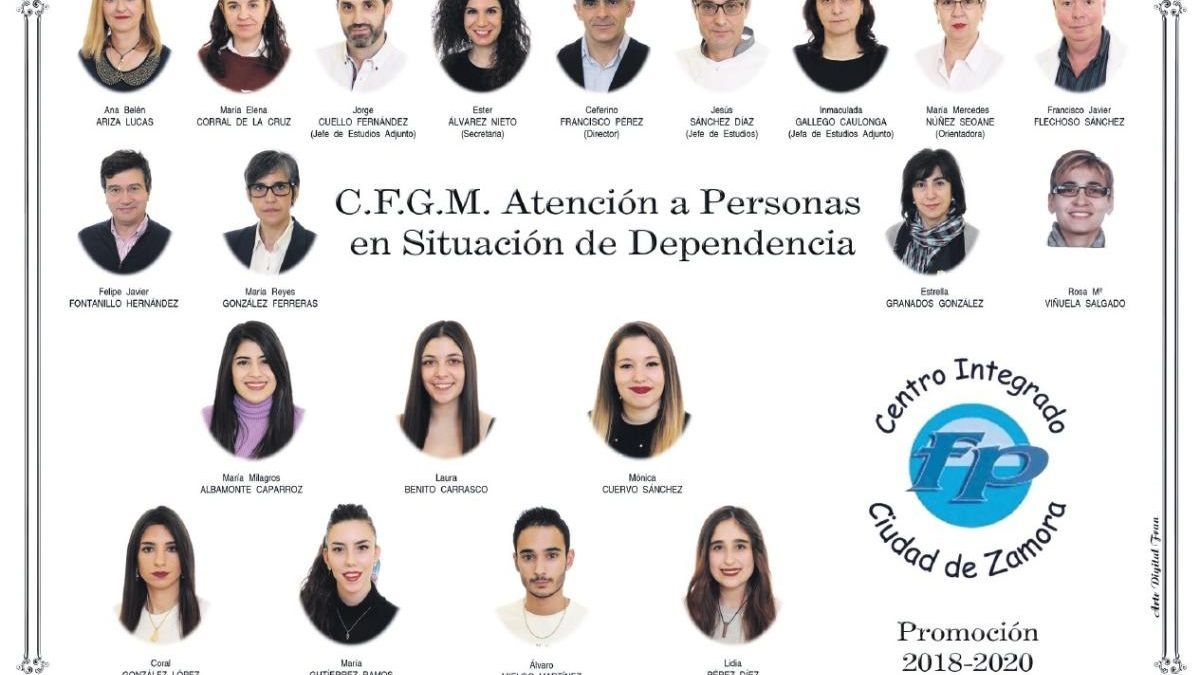 Descarga ya la orla del Grado de Atención a Personas en Situación de Dependencia del CIFP Ciudad Zamora