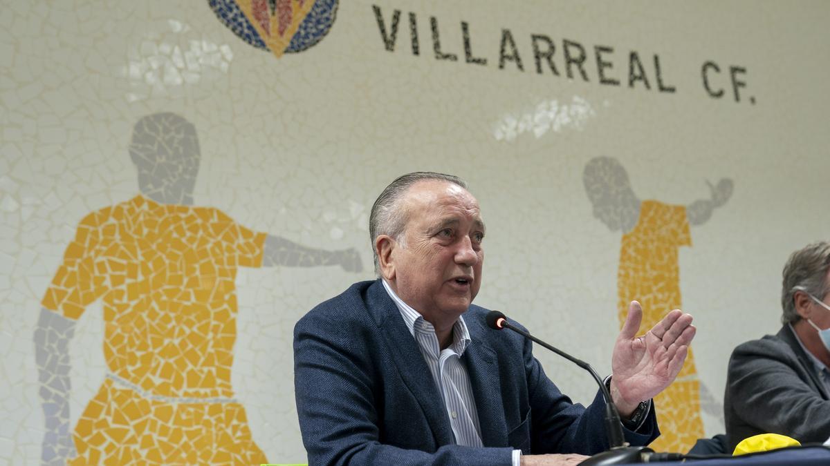 El presidente del Villarreal CF, Fernando Roig.