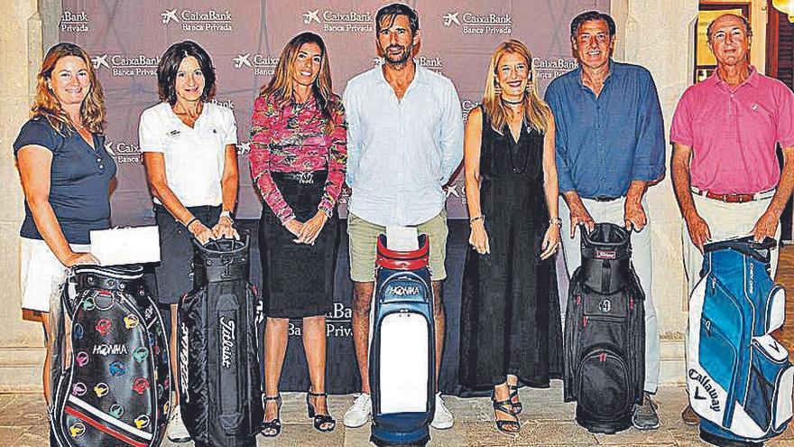 Yago González y Cristina Guerke ganan el Torneo Banca Privada de Golf
