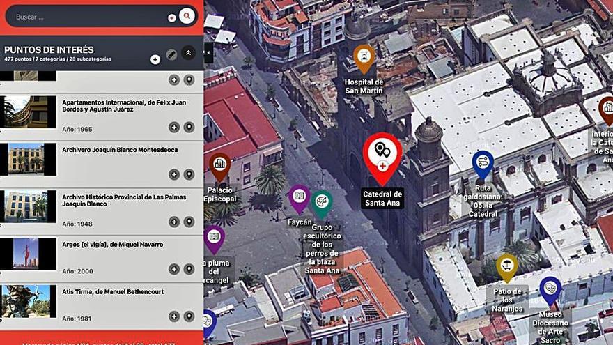El mapa que recoge los hitos culturales de la capital estrena una nueva versión