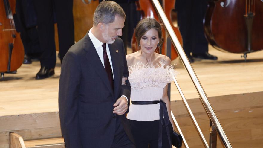 La Princesa de Asturias y la Infanta asisten por primera vez al concierto de los Premios