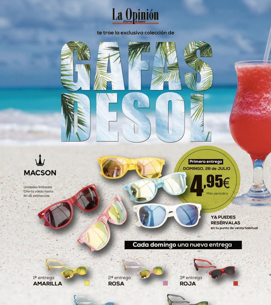 Colección de gafas de sol