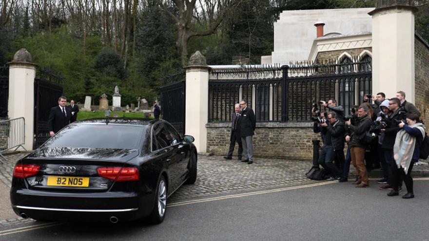 George Michael, enterrado 3 meses después de su muerte en una ceremonia íntima