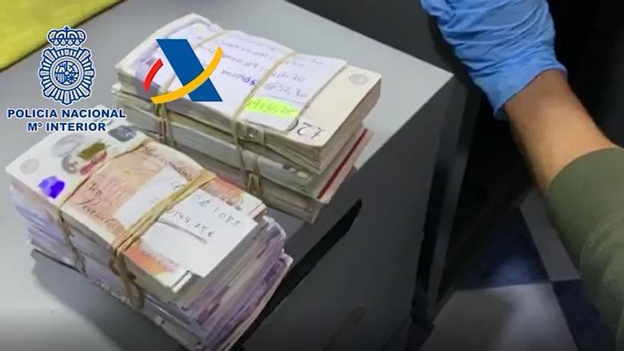 Desarticulada en Fuengirola una red de cambio de divisas que blanqueó más de 62 millones de euros a narcos británicos