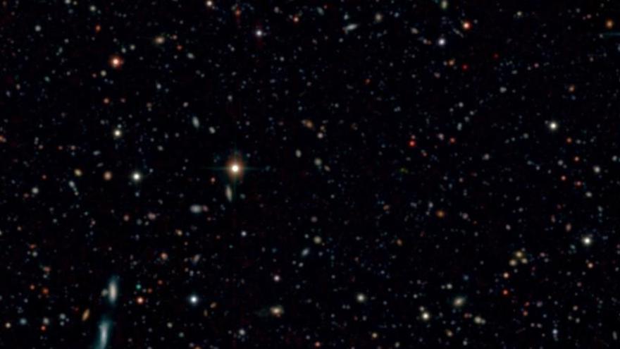 Descubren el censo de galaxias más profundo