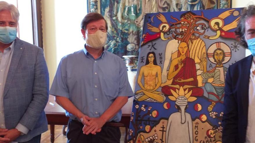 Zéosis, la nueva obra de Antonio Camaró vinculada a Mahar Kanura Buda
