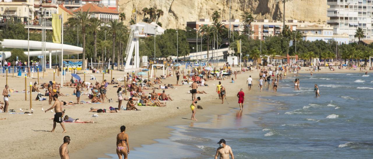 El tiempo en Alicante: La provincia espera hoy temperaturas más suaves