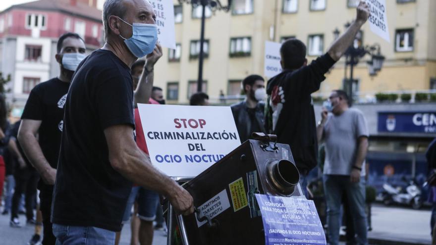 Los bares de copas que se acojan a la apertura condicionada de Oviedo también podrán pedir ayudas al Principado